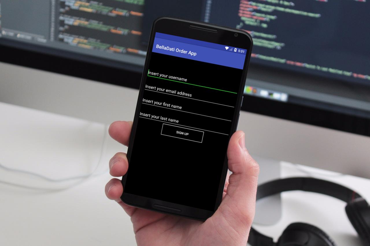 BellaDati Android Mobile Block for Authentication