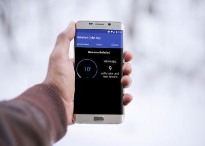BellaDati Android Mobile Block for Loyalty Program