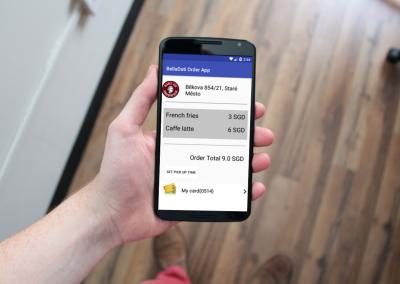 BellaDati Android Mobile Block for Ordering