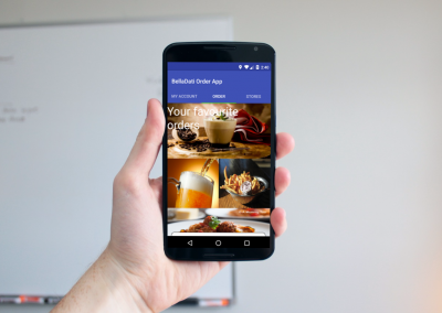 BellaDati Android Mobile Block for the Most Favorite Item